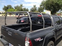 Weld together bed cage (pack rack) on a Tacoma