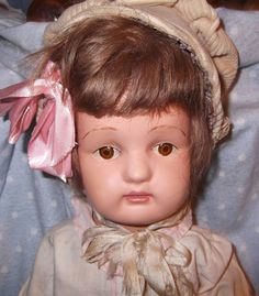 "On Hold 22"" Spectacular Schoenhut Doll from mydollymarket2 on Ruby Lane"