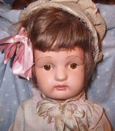 "On Hold 22"" Spectacular Schoenhut Doll from mydollymarket2 on Ruby Lane"