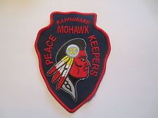 Québec Police Pacth Kahnawake Mohawk(Quebec Canada)3