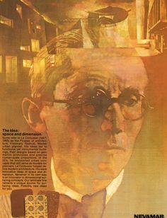 Bernie Fuchs, print ad for Nevamar Laminates, c.1979.
