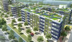 Heidelberg Village in Germany will be the world's largest passive housing complex when complete.