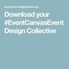 Download your #EventCanvasEvent Design Collective