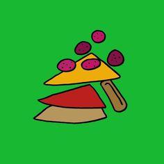 Disassemble #art #pizza #sketch #illustration #design #style #food #eat #popart #streetart #graffiti #abstractart