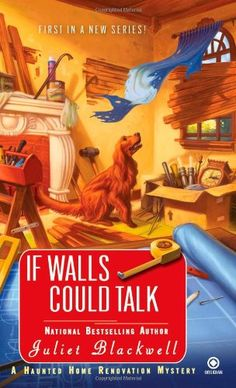 If Walls Could Talk: A Haunted Home Renovation Mystery by Juliet Blackwell http://www.amazon.ca/dp/0451231813/ref=cm_sw_r_pi_dp_Qtykvb1FM44JH