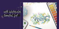 Amazon.com: MozArt Supplies: Paper Pads Brush Pen Art, Hand Lettering Tutorial, Calligraphy, Amazon, Paper, Ideas, Lettering, Amazons, Riding Habit