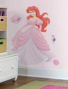 Beautiful Ariel Princess Wall Murals
