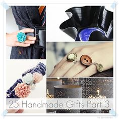 25 Handmade Gifts Under Five Dollars { Part 3 } . Time to make some great presents!