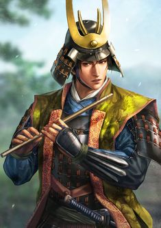 m Bard Medium Armor Helm Flute Longsword male forest hills farmland road Asian Faction lg Fantasy Heroes, Fantasy Characters, Character Concept, Character Art, Concept Art, Nobunaga's Ambition, Samurai Concept, Date Masamune, Medium Armor