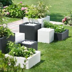 Pick the Schio Cubo Self-Watering Planter for your spring patio!