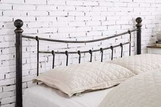 King Size Bed Frame - Beds are investments for our wellbeing as well as style statements that play a major part in pulling together a room Elegant Bedding, Traditional Bed, King Size Metal Bed Frame, Copper Bed, Traditional Bed Frames, Wood Bed Frame, King Size Bed Frame, Bed Frame Plans, King Size Bed