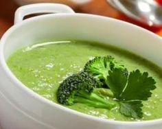 Gordon Ramsay's Broccoli Soup - Recipes - Brokkoli Rezepte Cheesy Broccoli Soup, Broccoli Soup Recipes, Healthy Soup Recipes, Diet Recipes, Cooking Recipes, Broccoli Crockpot, Healthy Food, Paleo Soup, Vegetarian Recipes