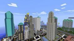 Minecraft - Moon City