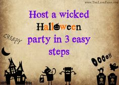 Host a wicked Halloween party in 3 easy steps! #halloween #halloweenparty #diy #holiday #bookoflife