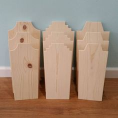 Solid Wood Necklace Display Jewelry Stand by SavedIndustriesInc