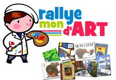 Rallye art et lectures pour cycle 2 ou cycle 3 School Projects, Projects For Kids, Programme D'art, Flags Europe, Art History Memes, French Teaching Resources, Cycle 2, Ecole Art, History Teachers