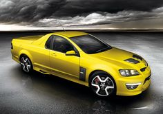 Holden Maloo HSV: A fire breathing pick-up with no weight at the rear for perfect drifting. Silly name too.