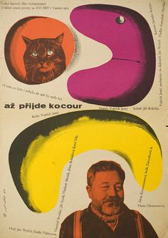 1963 Czech poster for The Cassandra Cat (Vojtech Jasny, Czechoslovakia, 1963). Designer: Jaroslav Fiser (scheduled via http://www.tailwindapp.com?utm_source=pinterest&utm_medium=twpin&utm_content=post53889240&utm_campaign=scheduler_attribution)