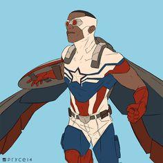 Sam Wilson as the All-New Captain America