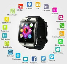 Bluetooth Smart Wrist Watch Phone Mate For Android & IOS Samsung And Iphone *High Quality Amazing Product dont miss out