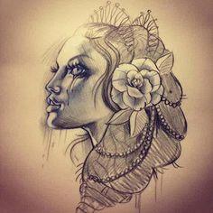 Done by Sadee Johnston. - THIEVING GENIUS