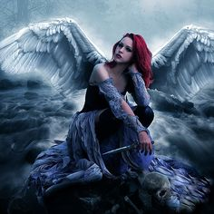 Red haired Angel | Red haired angels do exist | Pinterest | Angels ...