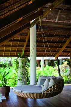 Eine Hängematte Auf Dem Balkon Wird Immer Eine Tolle Idee. Schauen Sie Sich  Einige Inspirierende Bilder Und Lassen Sie Sich Erstaunen.
