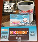 Dunkin Donuts Coffee Card - 10 Large Hot Coffees/Hot Teas-sent Priority Mail - http://couponpinners.com/gift-cards/dunkin-donuts-coffee-card-10-large-hot-coffeeshot-teas-sent-priority-mail/