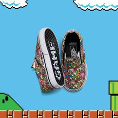 Vans Powers Up with a New Nintendo Collection