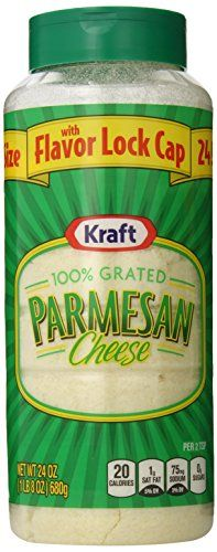 Kraft Grated Parmesan, 24-Ounce Plast...