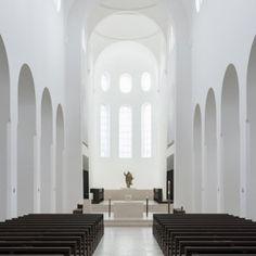 St Moritz Church stunning minimalistic-  by John Pawson