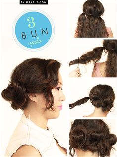 If you're ready for a low maintenance weekend, we have 4 hairstyles that are quick, easy and cute!