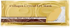 10 Masks in 5 Pairs of 24k Gold Eye Collagen Hyaluronic Acid, Vitamin B5, Vitamin E, Reduce Wrinkles and Dark Circles Around the Eye Area >>> See this great image  : Eye Care