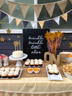 Delicately Sweet Confections: Twinkle, Twinkle Little Star - First Birthday!