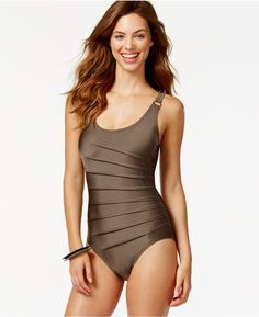 Calvin Klein Starburst One-Piece Swimsuit #swimsuit