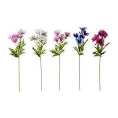 Vases, bowls & flowers - Artificial flowers - IKEA