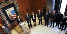 Rudi ha señalado en el Día de Aragón que se deben defender las instituciones