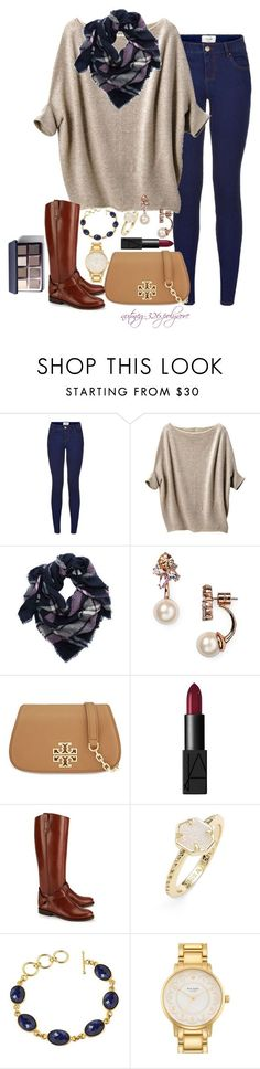 """""""Less Attitude, More Gratitude"""" by nutmeg-326 ❤ liked on Polyvore featuring Uniqlo, Aerie, Kate Spade, Tory Burch, NARS Cosmetics, Kendra Scott and Bobbi Brown Cosmetics"""