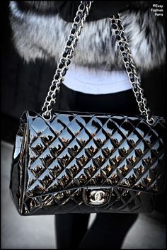 Chanel, I've always wanted this little bag it's so classy