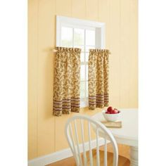 Better Homes and Gardens Tuscan Retreat Kitchen Curtain - 13418050X014MUL
