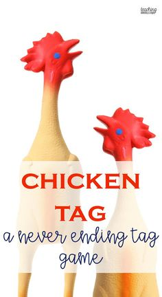 Chicken tag is a fun never ending tag game that is perfect for outdoor learning or as an engaging tag game in a primary gym class.