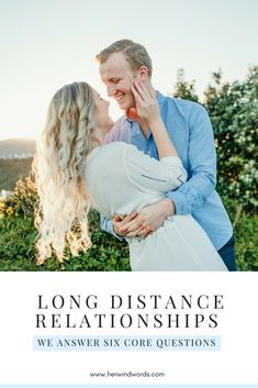 Long distance relationships: we answer six core questions. We hope this helps anyone else who might be choosing long-distance too! #longdistance #relationships #dating #advice #ourstory
