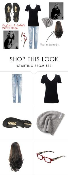 """""""Jaylah's & Gabe's First Date"""" by mollymay2398 on Polyvore featuring Dsquared2, IPANEMA, Converse and eyebobs"""