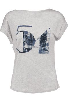 Shop on-sale Halston Heritage 54 printed modal T-shirt . Browse other discount designer Tops & more on The Most Fashionable Fashion Outlet, THE OUTNET.COM