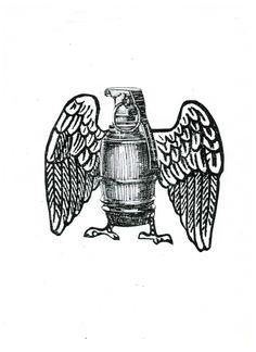Águila-granada