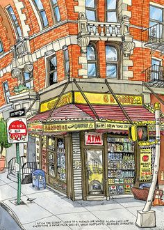 Brooklyn Bodega by Tommy Kane