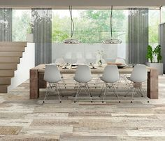 Pisos simil madera ceramicos buscar con google home - Smart tiles chez leroy merlin ...