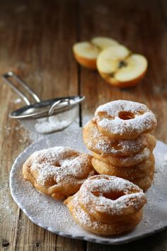 frittelle di mele senza latte e senza uova