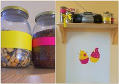 Capcakes - sticker for kitchen