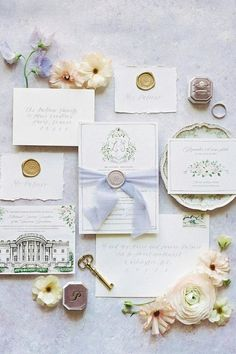 """@srs_events says, """"The bride had a vision of lavender that we designed with the mismatched bridesmaid dresses, gorgeous florals by @floralandbloom, lavender escort board, calligraphy, table linens and runners, the signature drink, and more!"""" 💜 Photo: @rebeccatheresaphotography #stylemepretty #weddinginvitation #invitationsuite #weddingcard #romanticwedding Wedding Mood Board, Wedding Table, Wedding Day, Wedding Centerpieces, Wedding Bouquets, Wedding Flowers, Wedding Stationery, Wedding Invitations, Mismatched Bridesmaid Dresses"""